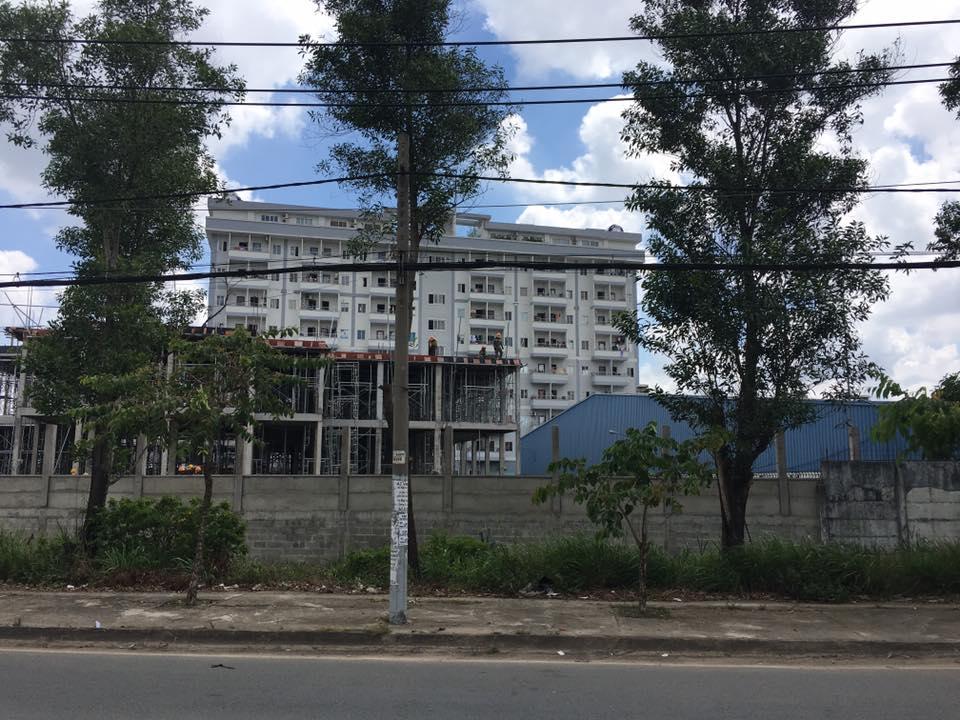 Khu Chung cư cho nhân viên KCN LT 2