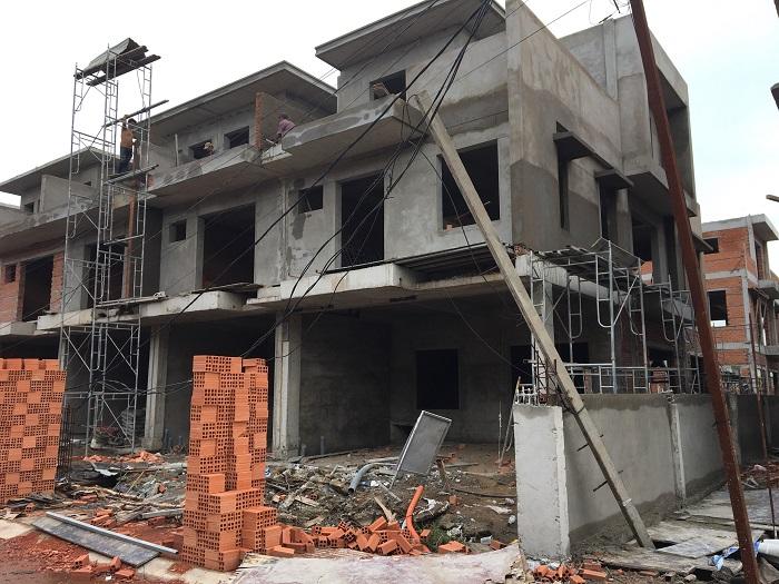 Tiến độ dự án Thăng Long Home Hưng Phú tháng 12 2018