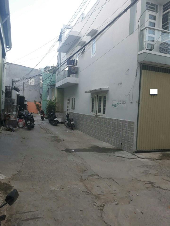 Hẻm xe hơi nhà phố Lê Văn Thọ