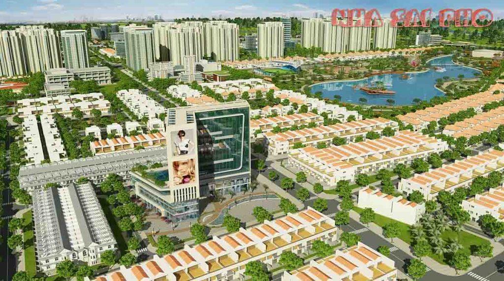 Phối cảnh dự án Đông Tăng Long