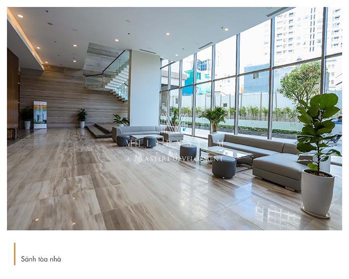 Sảnh căn hộ Officetel Masteri Millennium