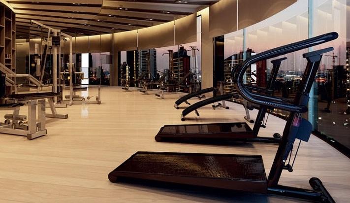 Phòng Gym hiện đại dự án căn hộ Millennium