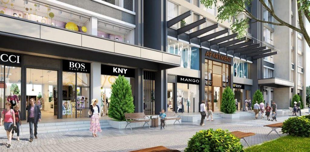 Hệ thống Shophouse cao cấp dự án Millennium