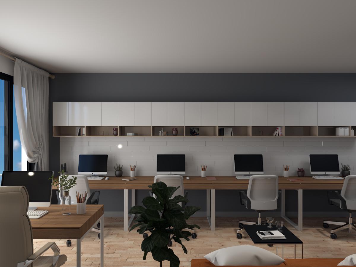 Thiết kế văn phòng làm việc Officetel Millennium