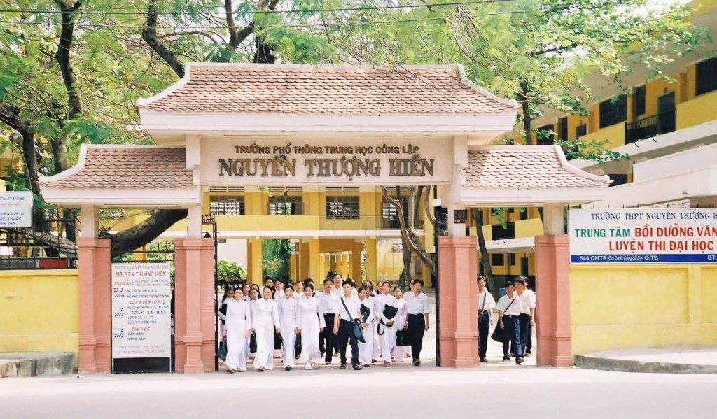 Trường THPT Nguyễn Thượng Hiền,THCS Tân Bình, tiểu học CMT8 chỉ mất 5' đi xe.