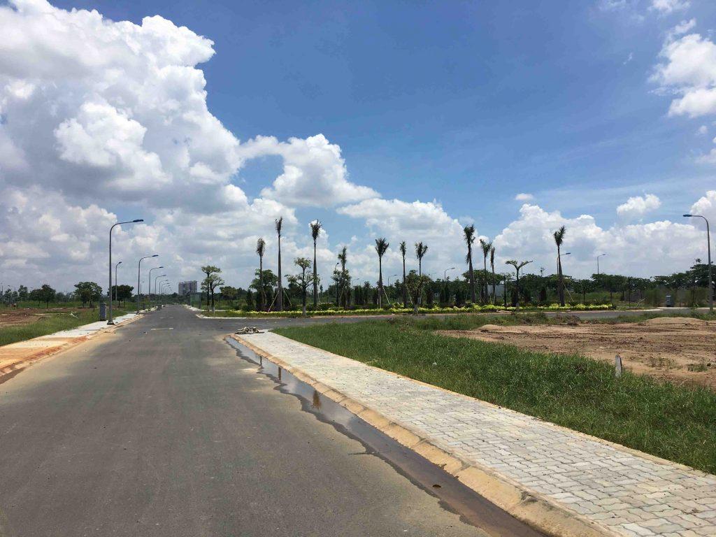 Một góc khu công viên cây xanh dự án Đông Tăng Long