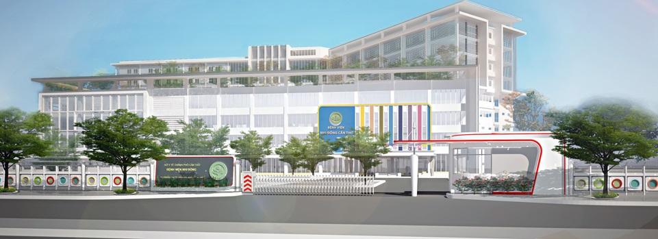 Phối cảnh bệnh viện trong dự án Đông Tăng Long