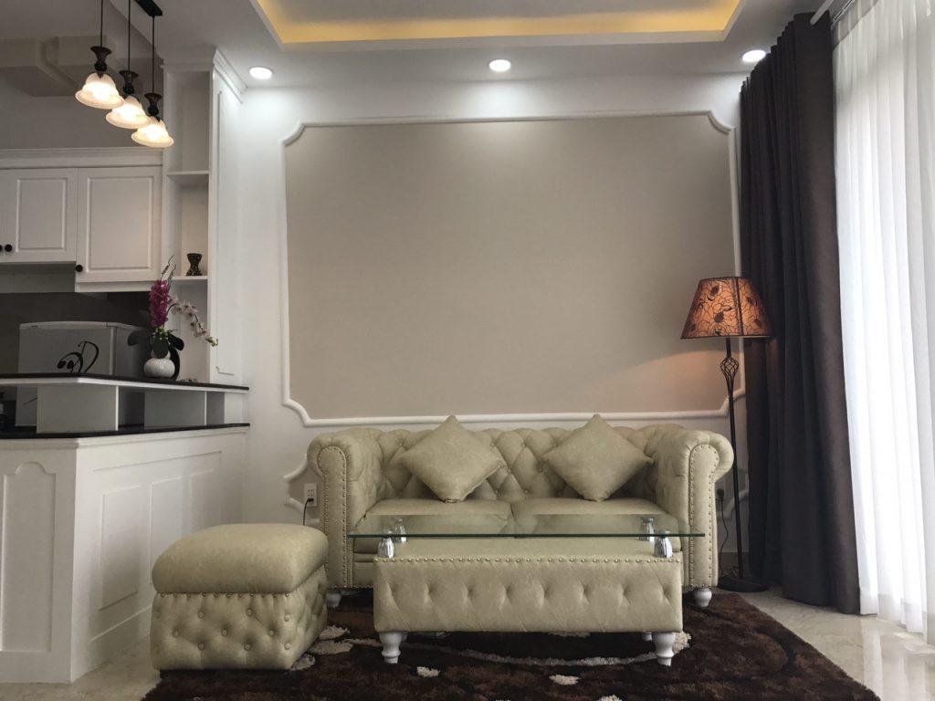 Phòng khách nhà đường Bùi Đình Túy, Bình Thạnh
