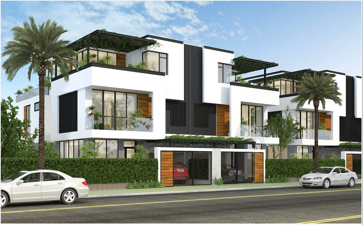 Thiết kế mẫu Nhà Biệt thự diện tích 10mx20m Dự Án Đông Tăng Long