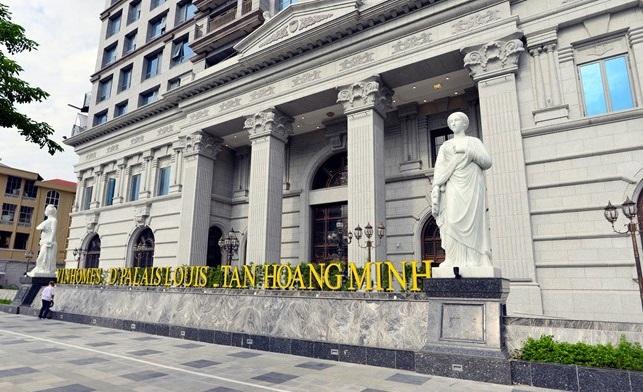 Dự án được quảng cáo là siêu sang của Tân Hoàng Minh từng có giá bán lên đến 145 triệu đồng/m2.
