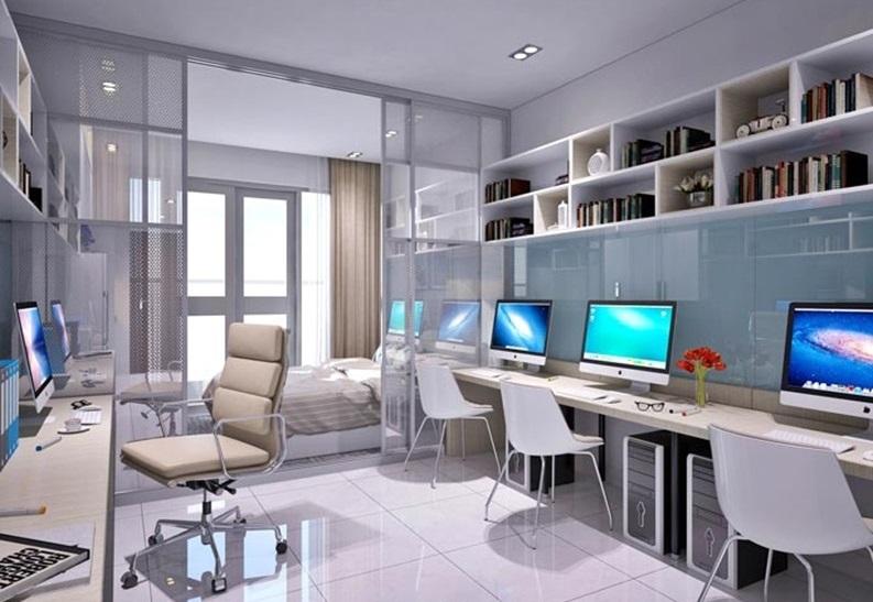 Officetel có công năng vừa ở vừa làm văn phòng được