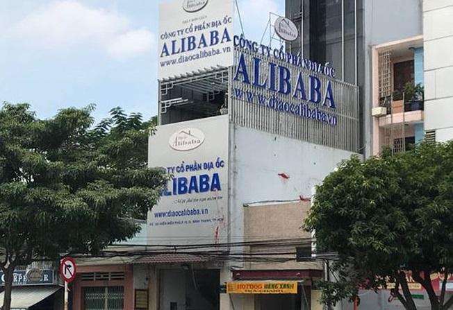 Trụ sở tại số 321 đường Điện Biên Phủ, phường 15, quận Bình Thạnh của Công ty Alibaba