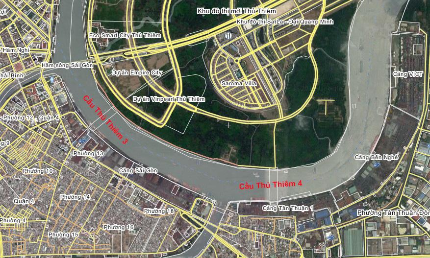 Quận 4 đang được UBND TP.HCM quan tâm và phát triển thành trung tâm thương mại lớn nhất nước