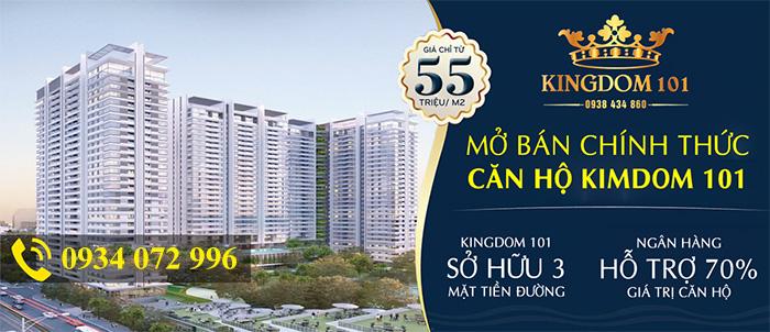 Dự án căn hộ Kingdom 101 Tô Hiến Thành Quận 10