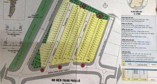 """Các đối tượng tự vẽ """"khu dự án nhà ở liên kề Royal Gold Land"""" rao bán"""