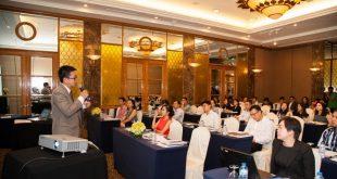 Hội thảo quy tụ hàng trăm khách mời là lãnh đạo đến từ các doanh nghiệp bất động sản lớn trong cả nước