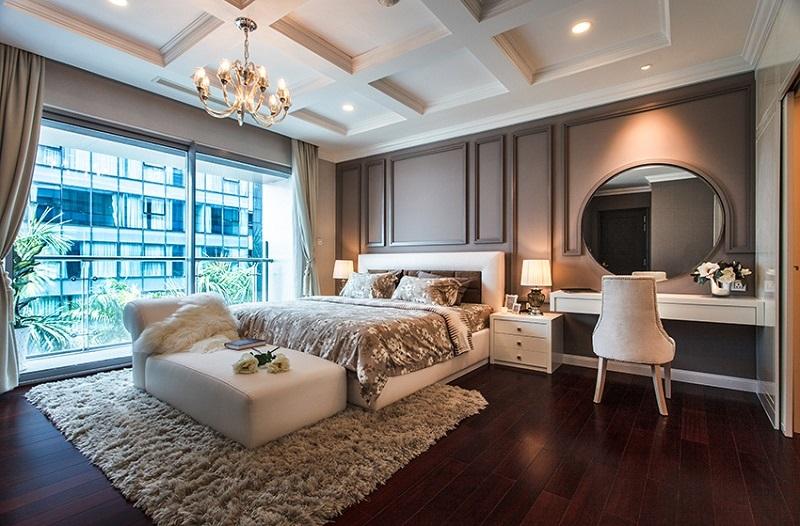 Phòng ngủ lớn dự án Kingdom 101