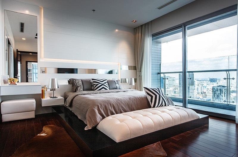 Phòng ngủ nhỏ dự án Kingdom 101