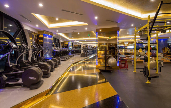 Tiện ích nội khu dự án Kingdom 101 - Phòng gym với trang thiết bị hiện đại