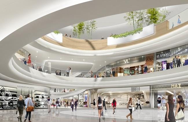 Tiện ích nội khu dự án Kingdom 101 - Trung tâm thương mại và dịch vụ cao cấp