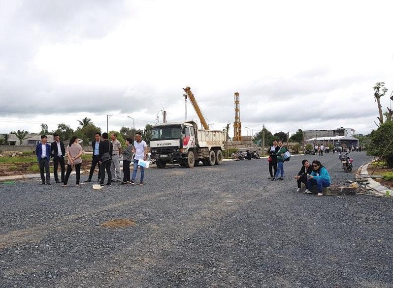 Dự án đất nền của một công ty môi giới tại quận 9.