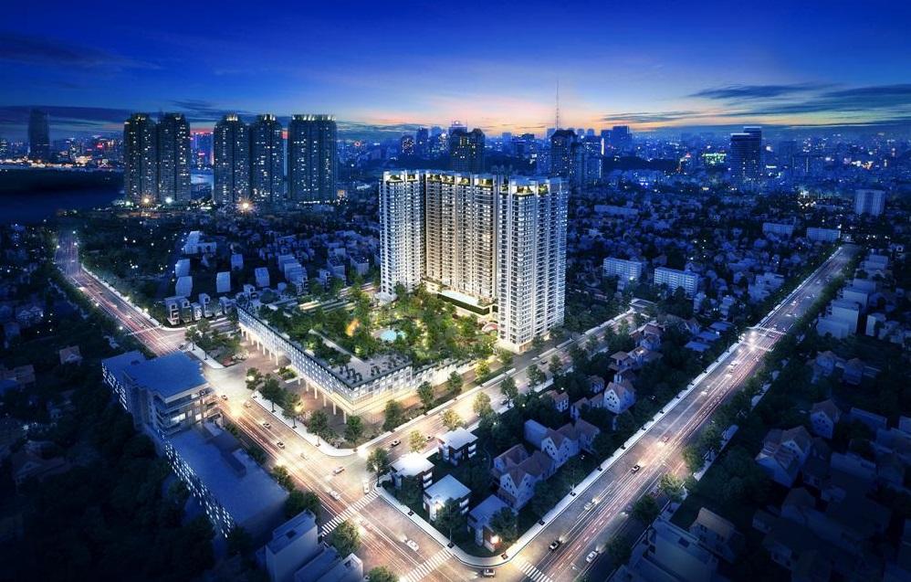 Phối cảnh dự án căn hộ cao cấp Kingdom 101