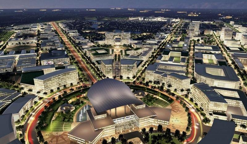 Mô hình khu đô thị sáng tạo Tp.HCM muốn triển khai.
