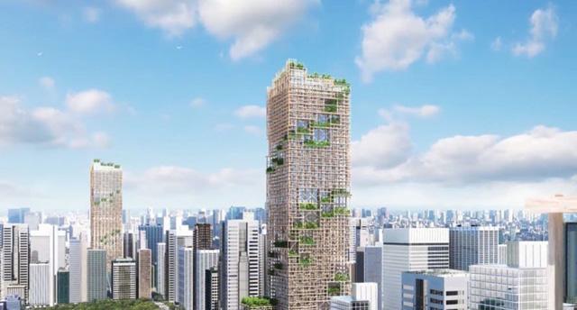 Tòa nhà này sẽ cung cấp 8.000 căn hộ và ban công mỗi tầng đều sẽ có cây cảnh.