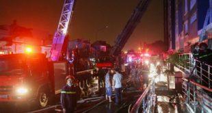 Vụ cháy khiến 13 người thiệt mạng, 28 người bị thương.