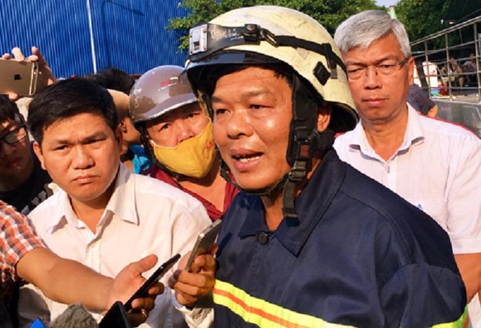 Thượng tá Nguyễn Thanh Hưởng (quyền Giám đốc Cảnh sát PCCC TP HCM)