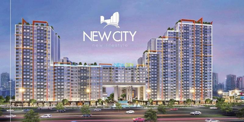 Phối cảnh dự án New City.