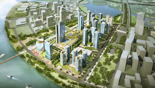 Phối cảnh dự án Thủ Thiêm Eco Smart City