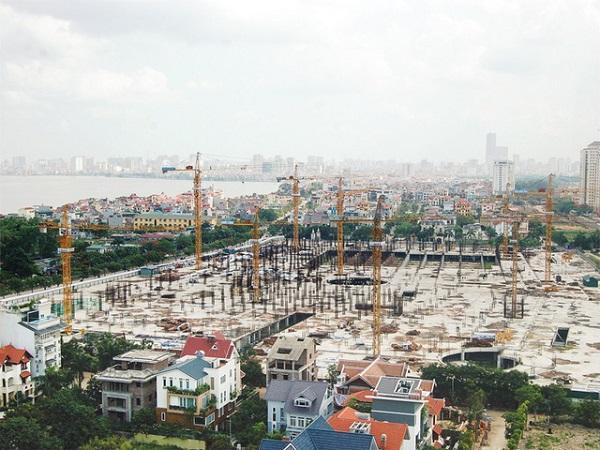 Dự án TTTM Ciputra Mall sẽ được tập đoàn Lotte tiếp tục đầu tư xây dựng sau khi mua lại.