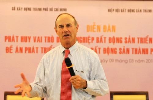 Giáo sư Richard Peiser, Trường Đại học Harvard (Mỹ)