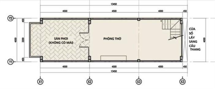 Thiết kế sân thượng nhà phố đường Bến Bình Đông