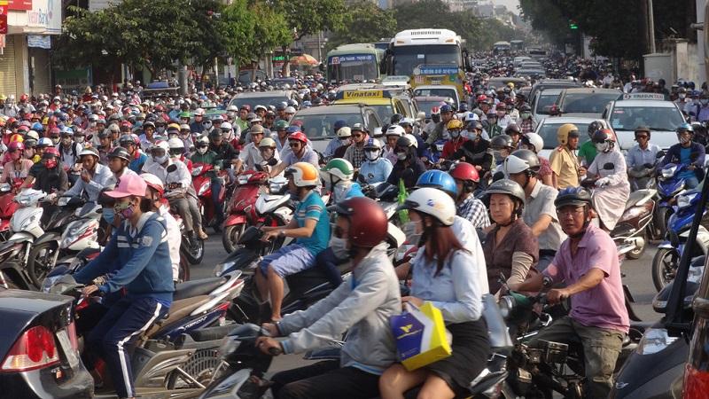 Vấn nạn kẹt xe nghiêm trọng đang ảnh hưởng tiêu cực tới BĐS khu trung tâm Tp.HCM.
