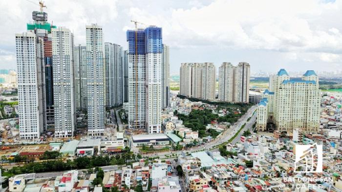 Xây dựng chung cư quá nhiều gây quá tải giao thông ở TP.HCM