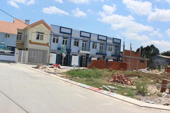 Các căn nhà riêng do NĐT tự xây mới rồi bán ra ghi nhận mức tăng giá từ 15-20%.