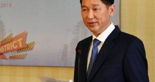 Ông Trần Vĩnh Tuyến tại buổi hội thảo về Lộ trình chiến lược xây dựng khu đô thị sáng tạo.
