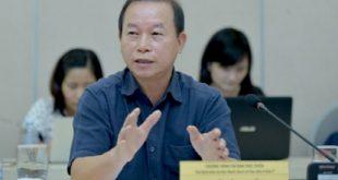 Ông Vũ Văn Phấn phát biểu tại diễn đàn.