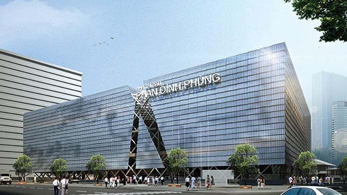 Phối cảnh dự án trung tâm TDTT Phan Đình Phùng