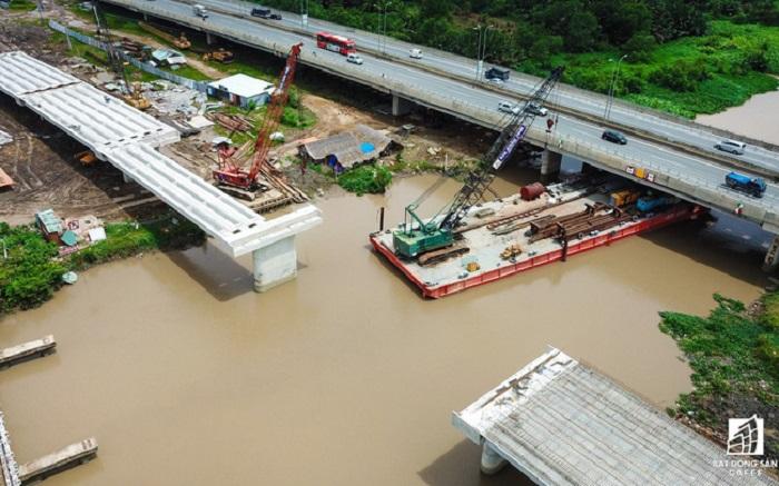 Khu đô thị Thủ Thiêm vừa mới khánh thành các công trình giao thông trọng điểm.