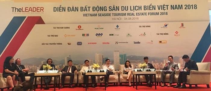 """Nhiều diễn giả đã bày tỏ sự hoài nghi về mức cam kết lợi nhuận 8-12%/năm ở phân khúc condotel của các chủ đầu tư tại diễn đàn """"Bất động sản Du lịch Biển Việt Nam"""""""