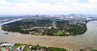 Khu đô thị Bình Quới - Thanh Đa cách trung tâm Tp.HCM chưa đầy 5km, nhưng hiện vẫn như một ốc đảo.
