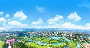 Phối cảnh một dự án bất động sản đang được triển khai tại Tp.HCM