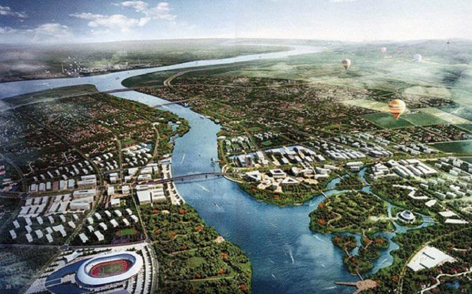 """Nhiều khả năng """"ông chủ"""" siêu đô thị lớn nhất Quảng Ninh này sẽ là Tập đoàn Vingroup."""