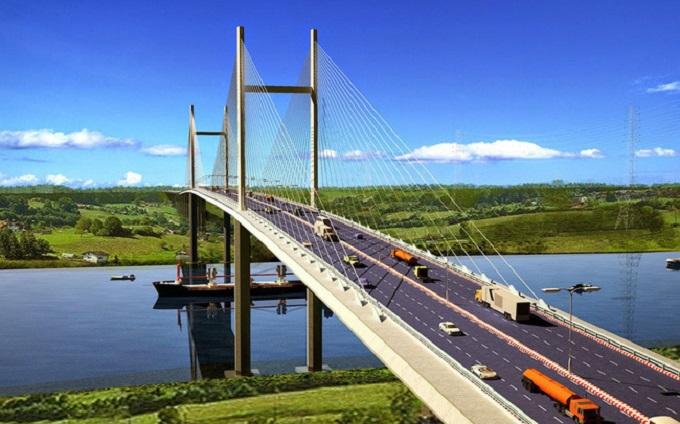 Cầu Cát Lái chưa xây dựng nhưng giá đất quanh đó đã bị đẩy lên cao.