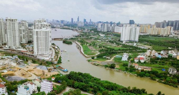 Trạm trung chuyển rác đối diện cụm nhà chung cư Tín Phong - 12 View, phường Tân Thới Nhất, quận 12