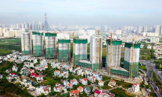Một dự án quy mô lớn của Novaland thuộc khu Đông TP HCM.