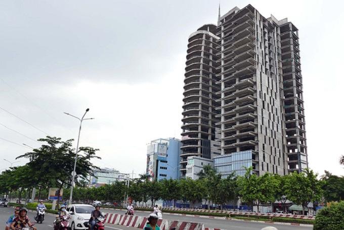 Một dự án bất động sản là khoản nợ xấu chưa giải quyết được.